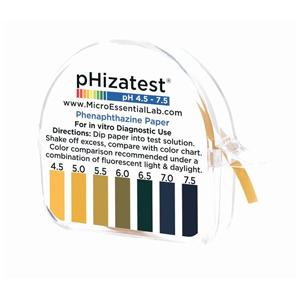 FIS 14850115 Paper Indicator pHIZA Test Nitrazine;15 FT x 1/4 IN Roll, Paper Indicator pHIZA Test Nitrazine (10 Per Case)