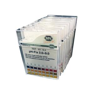 FIS 501173342 2.0-9.0, Graduated, Non-Bleeding, pH Test Strips (1000 Per Case)